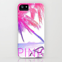 PINK iPhone &amp; iPod Case by Kristi Kaz