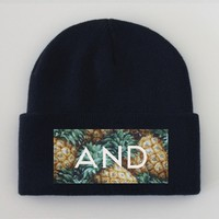ANDCLOTHING — PINEANDAPPLE Beanie <em> NEW </em>