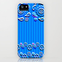Letterpress Paisley iPhone & iPod Case by Nina May