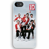 Funny Cute 1D One Direction with Clown Style - Apple iPhone 5, iphone 4 4s, iPhone 3Gs, iPod Touch 4g case by Pointsale Store