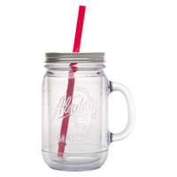 Aladdin Double-Walled Plastic Mason Jar
