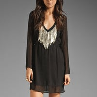 Gypsy 05 Lucy Long Sleeve Dress in Black from REVOLVEclothing.com