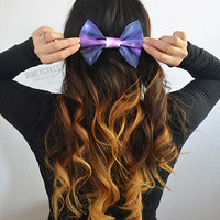 Galaxy Hair Bow (#4) - Dimeycakes - Hair Bows, Cases, & Apparel