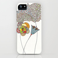 Spring Flowers iPhone & iPod Case by Anita Ivancenko