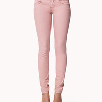 Double Pocket Skinny Jeans | FOREVER 21 - 2048509408