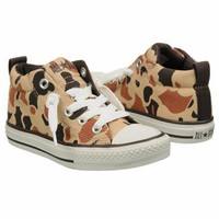 Athletics Converse Kids' All Star Street Mid P/G Warm Samd/Camo Shoes.com