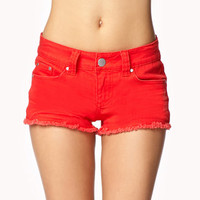 Distressed Denim Shorts | FOREVER 21 - 2060324003