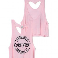Heart Back Tank