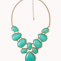 Bejeweled Bib Necklace | FOREVER21 - 1018087118