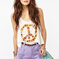 Nasty Gal x MINKPINK Daisy Peace Tank in What&#x27;s New at Nasty Gal