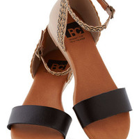 BC Shoes Lakeview Lodge Sandal in Black | Mod Retro Vintage Sandals | ModCloth.com
