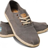 Grey Suede Women&#x27;s Cordones