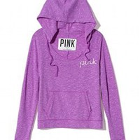 Scoopneck Hoodie - PINK - Victoria&#x27;s Secret
