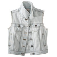 Mossimo Supply Co. Juniors Sleeveless Denim Vest - Assorted Colors