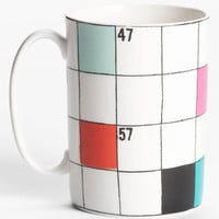 kate spade new york 'say the word' crossword mug | Nordstrom