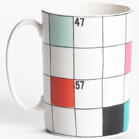 kate spade new york &#x27;say the word&#x27; crossword mug | Nordstrom