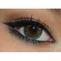 Royal Vision Creamy Peacock Green