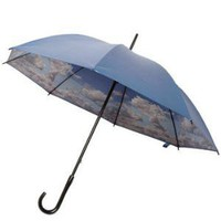 Blue Skies Above Umbrella | Mod Retro Vintage Umbrellas | ModCloth.com