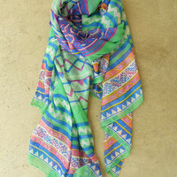 Mineral Creek Scarf [3793] - $16.00 : Vintage Inspired Clothing & Affordable Fall Frocks, deloom | Modern. Vintage. Crafted.