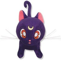Amazon.com: Sailormoon Luna Plush Toy: Toys & Games