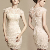 fancybuy — [gryxh3600212]lovely noble elegant lace skirt