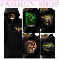 3D League of Legends Garen/Annie/Sion/Kennen Hoodie LOL Coat Cosplay Costume