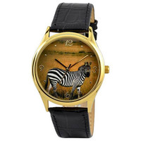 Zebra Watch by SandMwatch on Etsy