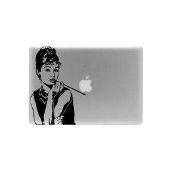 Audrey Hepburn Macbook Laptop Vinyl Decal Sticker