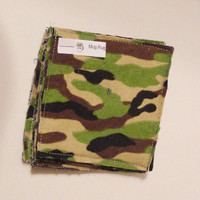 Camo Coasters Mug Rugs Set of 5 by ChristieCottage on Etsy