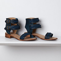 Indigo Braided Sandals