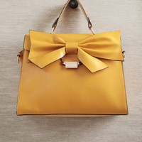 Kingly Bow Structured Purse at ShopRuche.com