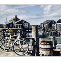 Nantucket Bikes 1 Photograph by Tammy Wetzel - Nantucket Bikes 1 Fine Art Prints and Posters for Sale