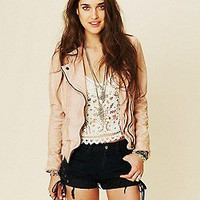 Muubaa   Athena Biker Jacket at Free People Clothing Boutique