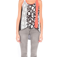 Sporty Lettered Tank - 2020AVE