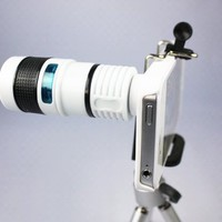Telescope 8X Zoom Telephoto Long Focal Camera Lens Tripod for iPhone