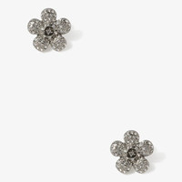 Cutout Center Flower Studs