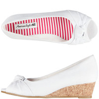 Girls - American Eagle- Girls' Kendal Peep Toe Wedge - Payless Shoes