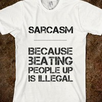 Sarcasm - Newww - Skreened T-shirts, Organic Shirts, Hoodies, Kids Tees, Baby One-Pieces and Tote Bags