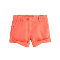 Girls&#x27; cuffed chino short