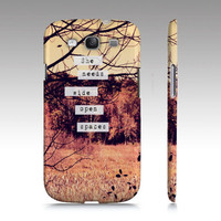 Samsung Galaxy S3 Covers - iPhone 5,4,4s Case &quot;Wide Open Spaces&quot;