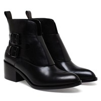 ALEXANDER WANG | Erin Buckled Leather Ankle Boots | Browns fashion &amp; designer clothes &amp; clothing