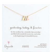 Dogeared &#x27;Yesterday, Today, Forever&#x27; Charm Necklace | Nordstrom