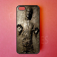 Iphone 5 Cases - Iphone 5 Covers - Han Solo Starwars - Rubber Iphone Cases - Cute Vintage Unique Designer Protective Cases for Iphone