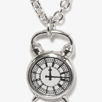 Alarm Clock Necklace | FOREVER 21 - 1052287724