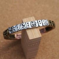 All for Peace Stretch Bracelet