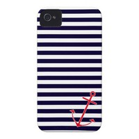 Classic Nautical Anchor iPhone 4 Cover from Zazzle.com