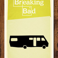 Breaking Bad Minimal Print - Poster Based on the hit AMC TV Show - 11x17