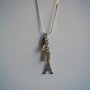 Adorable Francophile Necklace - Upcycle - Paris