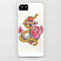 Anchored Traditional iPhone & iPod Case by haleyivers