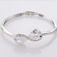 fancybuy  elegant rhinestone outrhinestone bracelet